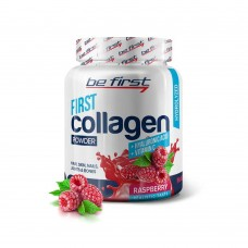 Be First Collagen+Hyaluronic Acid+Vitamin C 200г малина