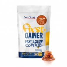 Be First Gainer Fast&Slow Carbs 1кг карамель