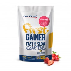 Be First Gainer Fast&Slow Carbs 1кг клубника