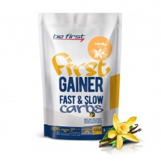 Be First Gainer Fast&Slow Carbs 1кг ваниль