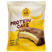 FitKit Protein Cake 70г банановый пудинг